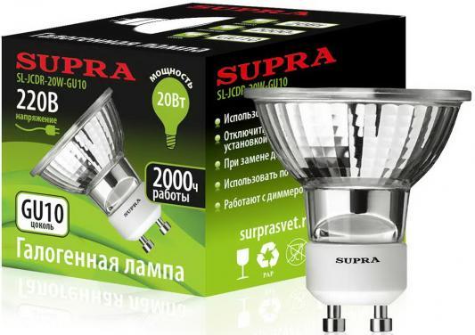 Лампа галогенная Supra SL-JCDR-20W-GU10 цены