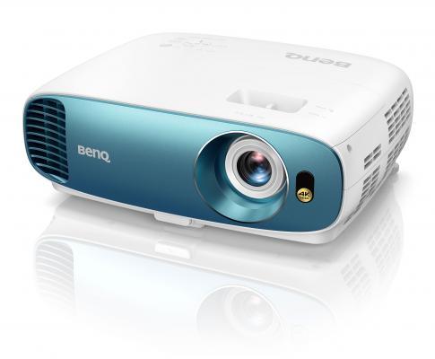 Проектор Benq TK800 DLP 3000Lm (3840x2160) 10000:1 ресурс лампы:4000часов 1xUSB typeA 2xHDMI 4.2кг проектор benq tk800