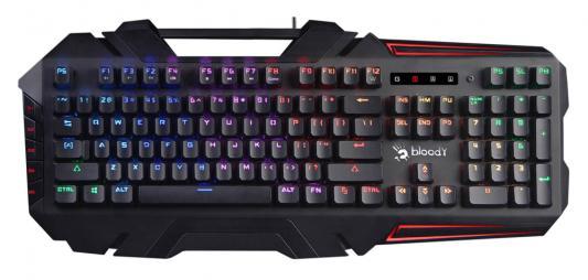 Клавиатура проводная A4TECH B880R USB черный клавиатура a4tech a4 g100 usb черный проводная