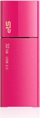 Фото - Флеш Диск Silicon Power 32Gb Blaze B05 SP032GBUF3B05V1H USB3.0 розовый контейнер д мелочей fresh 25 5x5 5x4см 7 секций пластик