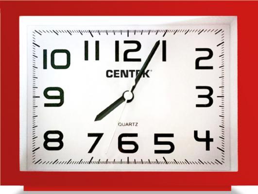 Будильник Centek СТ-7202 красный