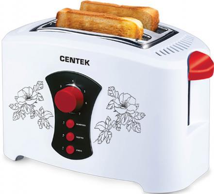 Тостер Centek СТ-1426 белый