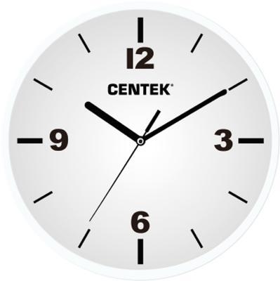 Часы настенные Centek СТ-7102 White часы настенные apeyron pl 7214 white black