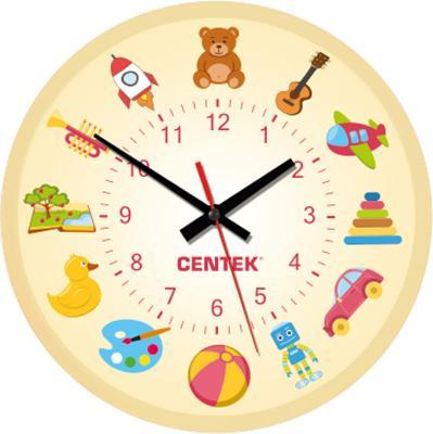Часы настенные Centek СТ-7104 Toys часы centek centek ст 7104 flower