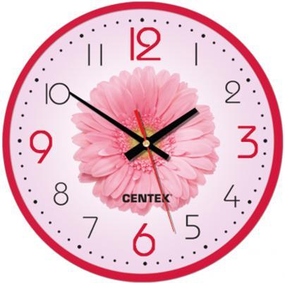 Часы настенные Centek СТ-7105 Flower часы centek centek ст 7104 flower