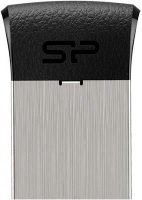 Флеш Диск Silicon Power 32Gb Touch T35 SP032GBUF2T35V1K USB2.0 черный флеш диск silicon power 8gb touch 835 серый sp008gbuf2835v1t