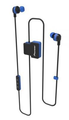 Гарнитура вкладыши Pioneer SE-CL5BT-L синий беспроводные bluetooth (шейный обод) pioneer relax sports гарнитура bluetooth гарнитура с отражающей черной