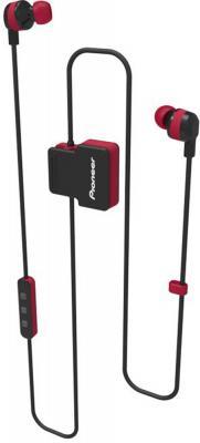 Гарнитура вкладыши Pioneer SE-CL5BT-R красный беспроводные bluetooth (шейный обод) pioneer se cl712t красный