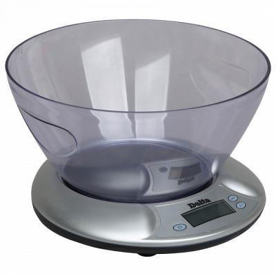 Весы кухонные DELTA КСЕ-02 серебристый весы delta ксе 36 черника