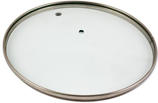 Крышка стеклян. TimA 4616н без ручки с металл/обод 16 см низ