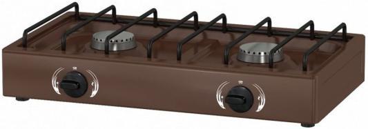 Газовая плита 1217 коричневый