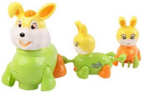 Купить Интерактивная игрушка Наша Игрушка Заяц от 3 лет, разноцветный, пластик, унисекс, Игрушки со звуком