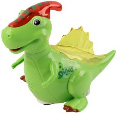 Интерактивная игрушка Наша Игрушка Динозаврик от 3 лет интерактивная игрушка наша игрушка рыбалка инопланетная от 3 лет jq a63 b