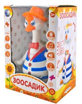 Интерактивная игрушка Наша Игрушка Гусь Зоосадик от 3 лет игрушка hansa гусь 26cm 4945