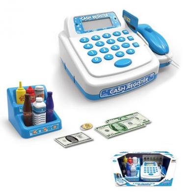 Фото - Игровой набор Наша Игрушка Кассовый аппарат 19 предметов кассовый аппарат игрушечный наша игрушка покупки