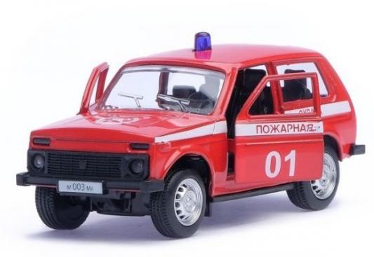 Пожарная машина Автопанорама Пожарная охрана красный 1200048