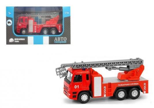 Пожарная машина Автопанорама Пожарная служба красный 1200092 playmobil пожарная служба команда пожарников 5366