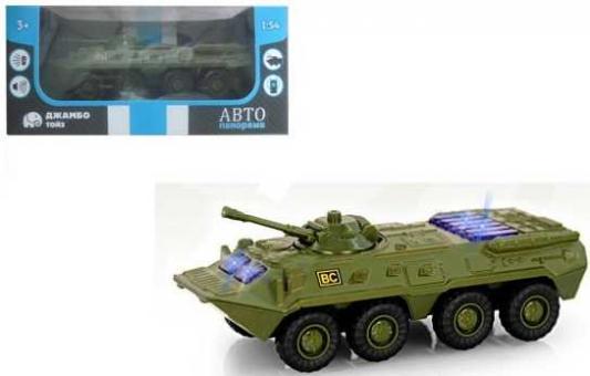Танк Автопанорама Танк металлический хаки 1200081 танк zhorya танк хаки в85860
