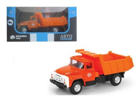 Купить Самосвал Автопанорама Самосвал оранжевый 1200097, Игрушечные машинки