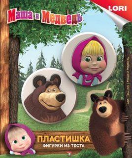Фигурки из теста Маша и Медведь Маша и медведь