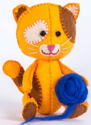 Набор для изготовления игрушек Перловка Котёнок Рыжик котёнок рыжик или как найти сокровище вебб х