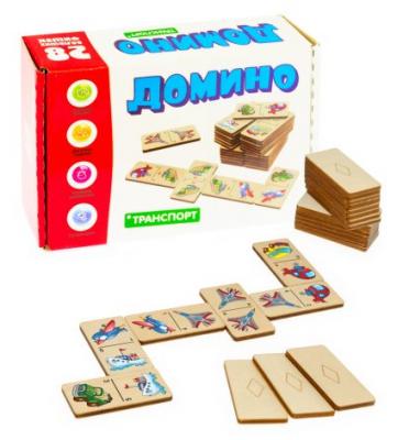 Настольная игра Анданте домино Домино большое Транспорт