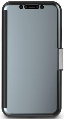 Чехол-книжка Moshi StealthCover для iPhone XR серый 99MO102022 цена и фото