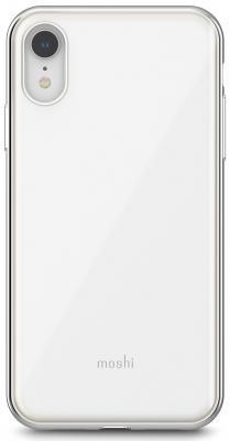 Накладка Moshi iGlaze для iPhone XR жемчужно-белый 99MO113101 клип кейс moshi iglaze для apple iphone xr красный