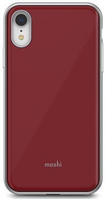 Накладка Moshi iGlaze для iPhone XR красный 99MO113321 клип кейс moshi iglaze для apple iphone xr черный