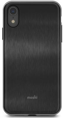 Накладка Moshi iGlaze для iPhone XR чёрный 99MO113001 клип кейс moshi iglaze для apple iphone xr красный