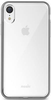 Накладка Moshi Vitros для iPhone XR серебристый прозрачный 99MO103202 клип кейс moshi vitros для apple iphone xr серебристый