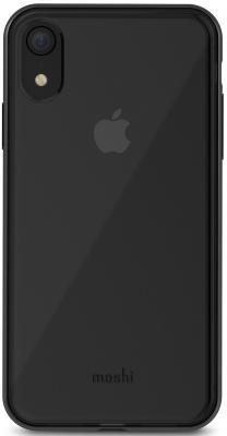 Накладка Moshi Vitros для iPhone XR прозрачный чёрный 99MO103034 клип кейс moshi vitros для apple iphone xr серебристый