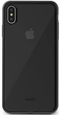 цены Чехол Moshi Vitros для iPhone XS Max пластик прозрачный черный 99М0103035