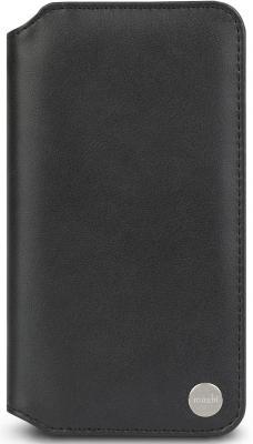 Чехол-кошелек Moshi Overture для iPhone XR чёрный 99MO091010