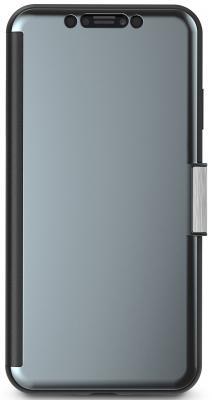 Чехол-книжка Moshi StealthCover для iPhone XS Max пластик полиуретан черный 99MO102023 цена и фото