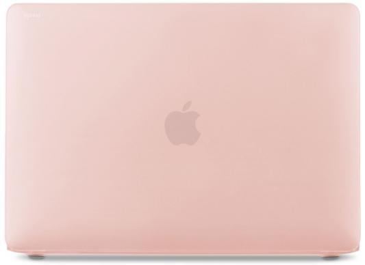Чехол Moshi iGlaze Pro для MacBook  13 (2016) (без Touch Bar), материал пластик, цвет розовый