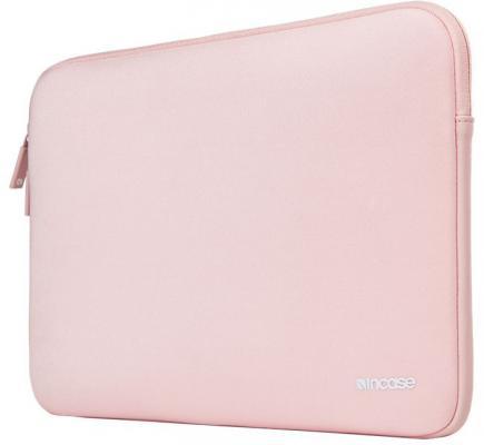 Чехол Incase Classic Sleeve для ноутбуков Apple MacBook 12. Материал нейлон. Цвет розовый.