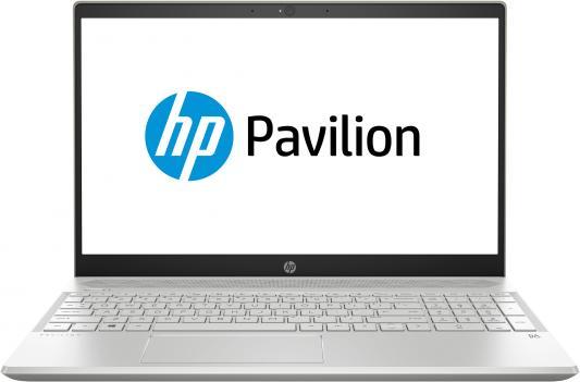 HP Pavilion 15-cs0046ur 15.6(1920x1080)/Intel Core i3 8130U(Ghz)/4096Mb/256PCISSDGb/noDVD/Int:Intel HD Graphics/war 1y/Pale gold/W10 hp pavilion 14 ce0037ur 14 1920x1080 ips intel core i3 8130u ghz 4096mb 256pcissdgb nodvd int intel hd graphics war 1y ceramic white w pale rose gold kb w10