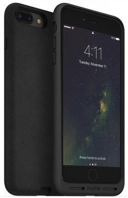 Чехол с функций беспроводной зарядки Mophie Charge Force для iPhone 7 Plus. Цвет черный. аккумулятор mophie power boost xxl v2 20800mah white 4084