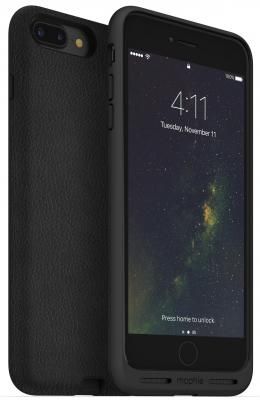 Чехол с функций беспроводной зарядки Mophie Charge Force для iPhone 7 Plus. Цвет черный. чехол mophie juice pack air