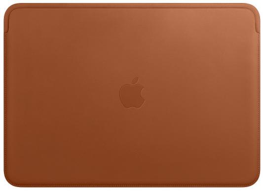 Кожаный чехол Apple для MacBook Pro 13 дюймов, золотисто-коричневый цвет чехол uniq для apple macbook pro 13 black