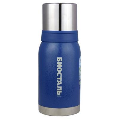 Термос BIOSTAL 750NBА-B синий 0.75 л нержавеющая сталь термос biostal 750nbа b синий 0 75 л нержавеющая сталь