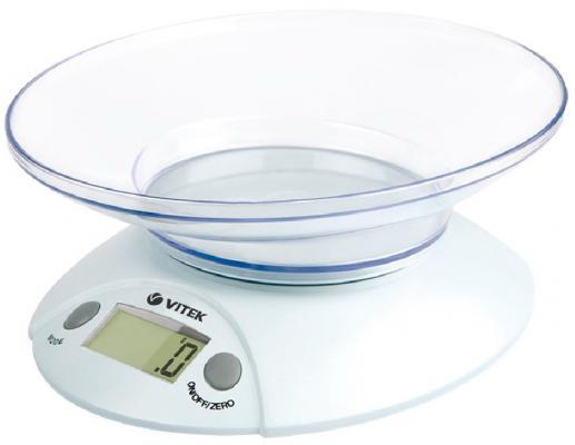 Весы кухонные Vitek 8001(GY) белый