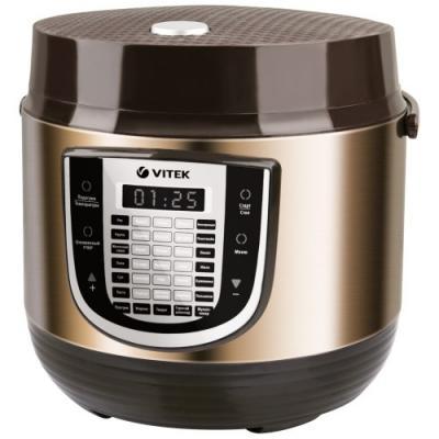 4280(BN) Мультиварка VITEK Мощность 900Вт.Oбъем чаши 5Л. 35 автоматических программ.