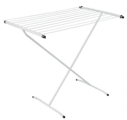 10-Delta Сушилка для белья Endever. 10 реек, габаритные размеры в разложенном виде- 90х54.3х81 см