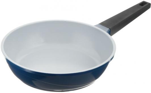 Bio-FPD-24 Сковорода BIOSTAL синий/серый.24см сковорода supra katai sad k242f 24см без крышки темно серый