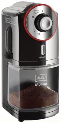 Кофемолка Melitta Molino 100 Вт черный melitta 19434