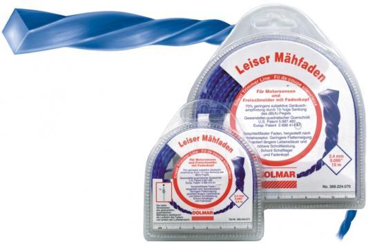 Леска для триммеров DOLMAR 2.0мм/120м леска триммерная витая бесшумная 2.0 мм/ 120м спираль нейлон  - Купить