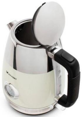 Чайник электрический KITFORT КТ-633-3 2150 Вт бежевый 1.7 л нержавеющая сталь
