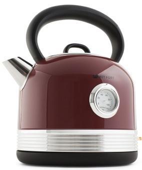 Чайник электрический KITFORT КТ-634-2 2150 Вт красный 1.7 л нержавеющая сталь